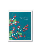 Compendium Card Holiday '... joy is everywhere'