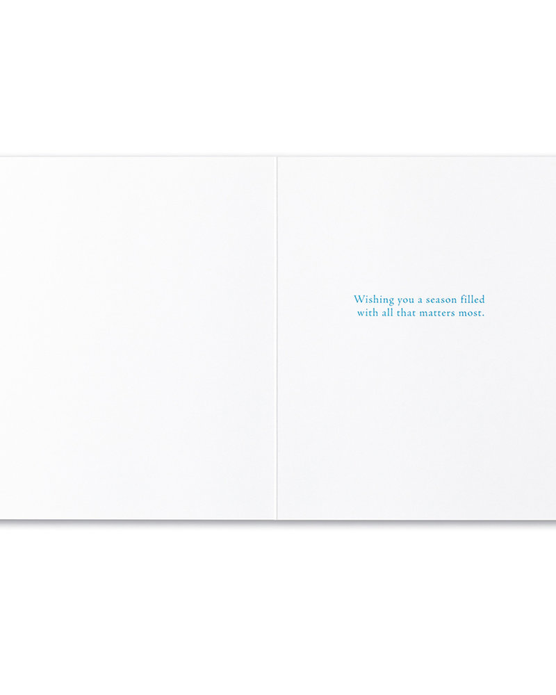 Compendium Compendium Card Holiday 'It's not what we give'