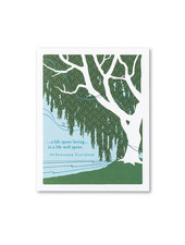 Compendium Sympathy Card | 'A Life Spent Loving'