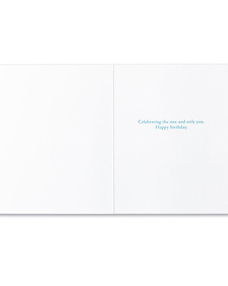 Compendium Compendium Birthday Card | 'Nature never repeats herself'