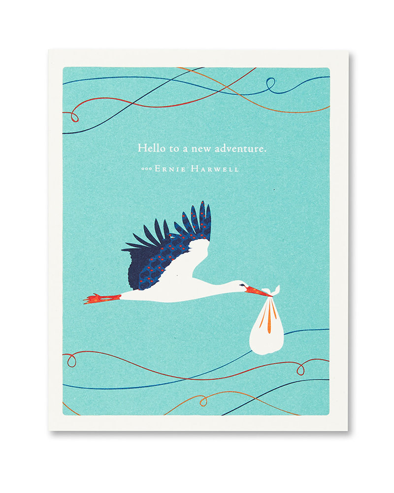 Compendium Compendium Card 'New Adventure'