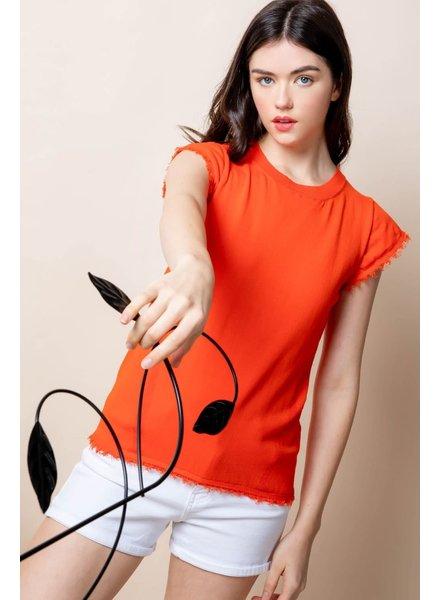 THML 'Orange You Pretty' Top