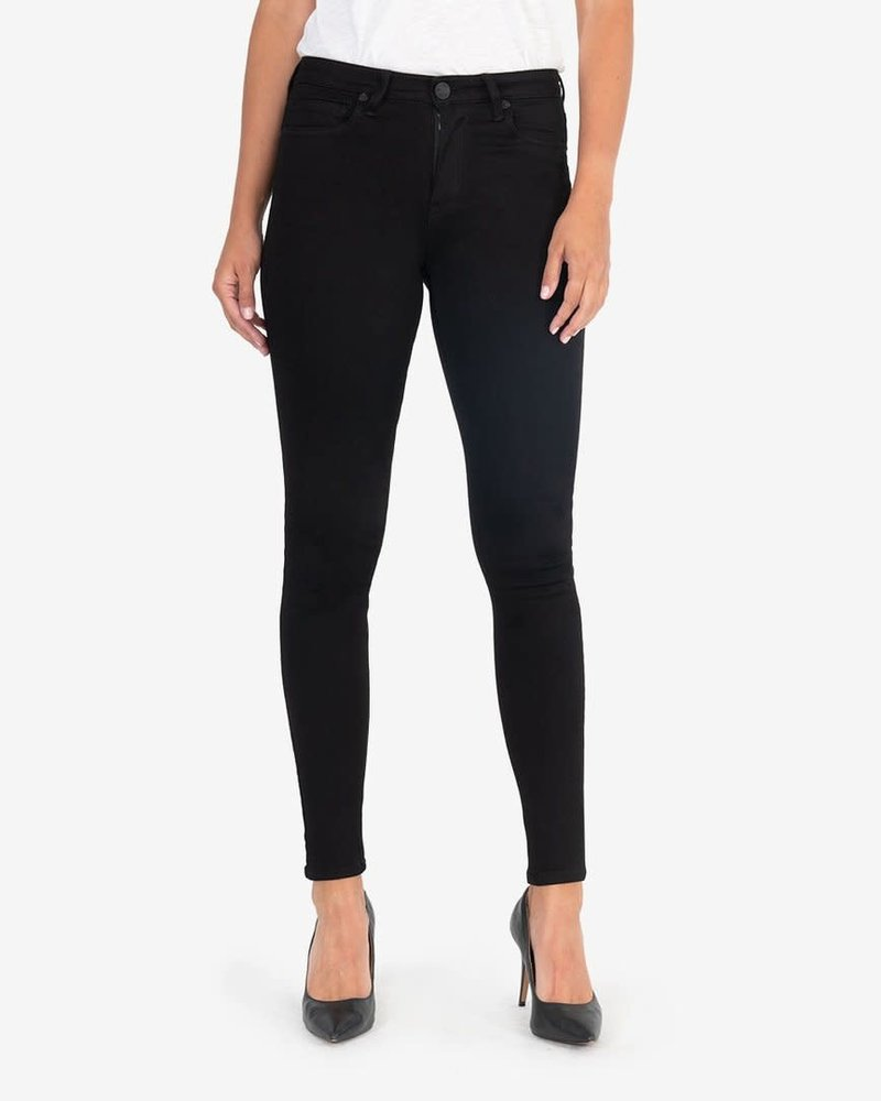 Kut from the Kloth Kut from the Kloth 'Mia' High Rise Skinny Jegging in Black
