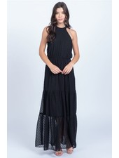 Everly 'All Gowned Up' Halter Maxi Dress **FINAL SALE**