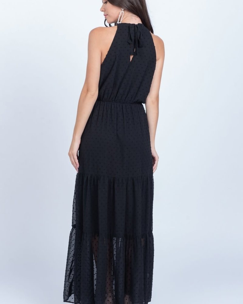 Everly Everly 'All Gowned Up' Halter Maxi Dress