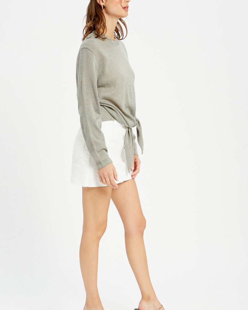 Wishlist Wishlist Green 'Give Me A Tie' Top