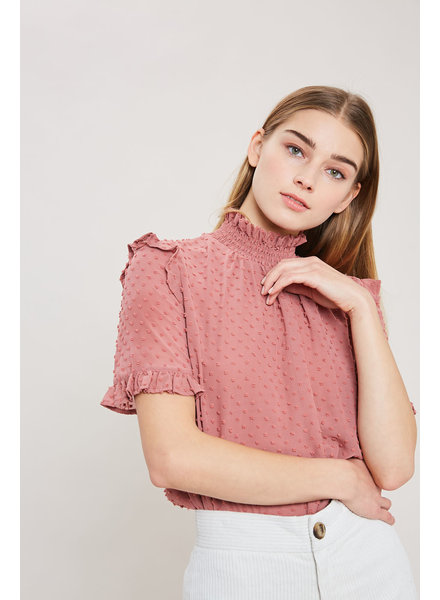 Wishlist 'Smocked the Dot' Top