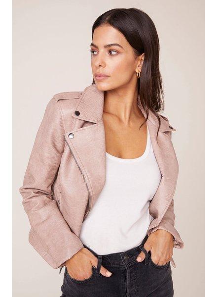 BB Dakota 'Lucky Lizard' Vegan Leather Jacket