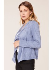 BB Dakota 'Suede It Out' Faux Suede Jacket