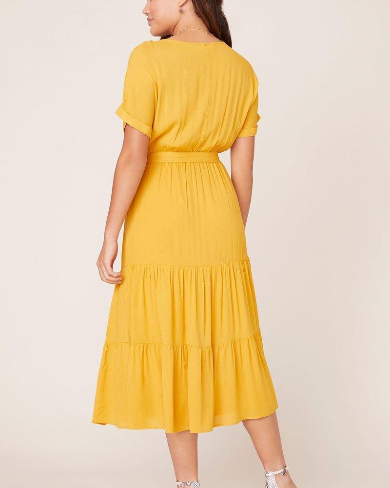BB Dakota BB Dakota 'Sundown' Midi Dress