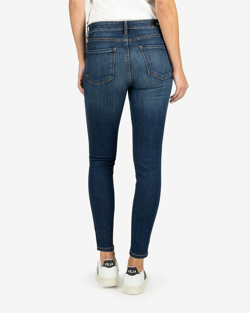 Kut from the Kloth Kut from the Kloth 'Connie' Fab Ab Ankle Skinny Jeans in  Carefulness