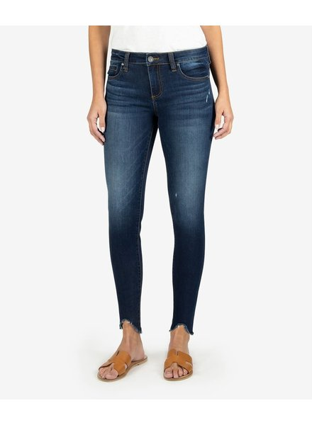 Kut from the Kloth 'Connie' Slim Fit Ankle Step Fray Hem Jeans in Taste