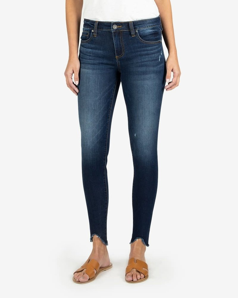 Kut from the Kloth Kut from the Kloth 'Connie' Slim Fit Ankle Step Fray Hem Jeans in Taste