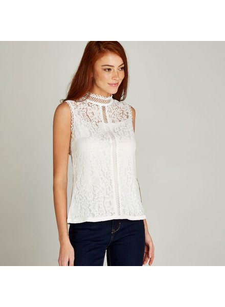 Apricot 'Cream of Lace' Top