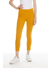 I Love Tyler Madison 'Liv' Zip Hem Pant in Dijon