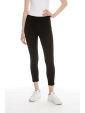 I Love Tyler Madison 'Liv' Zip Hem Pant in Black