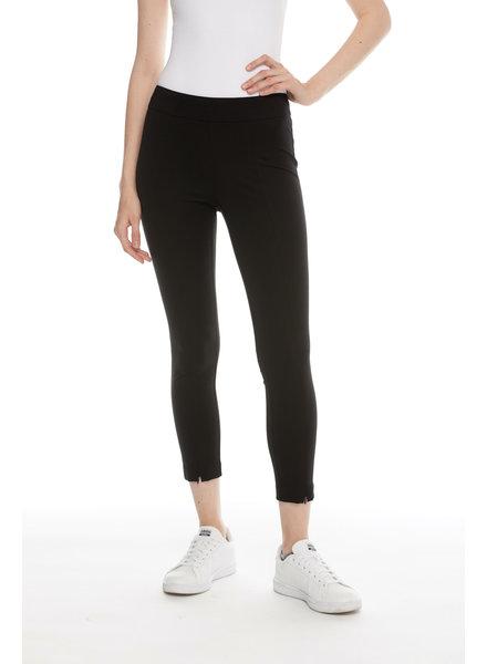 I Love Tyler Madison 'Liv' Zip Hem Pant in Black