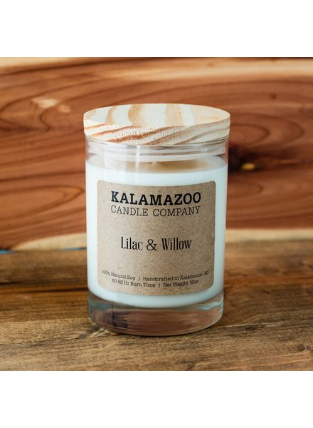 Kalamazoo Candle Co. Jar Candle in Lilac & Willow