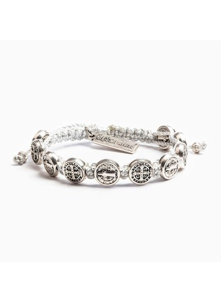 My Saint My Hero Blessing Bracelet in Silver (More Colors)