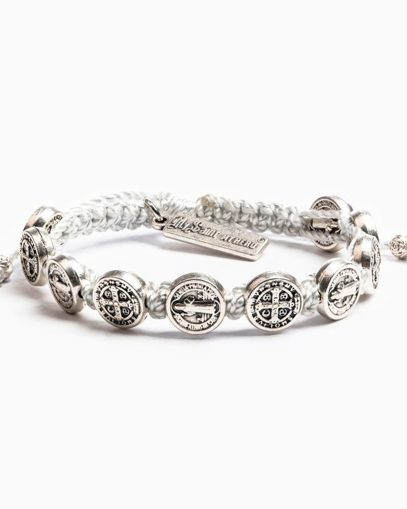 My Saint My Hero My Saint My Hero Silver Blessing Bracelet