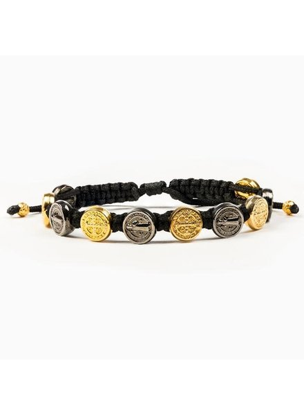 My Saint My Hero Blessing Bracelet in Jet Black (More Colors)