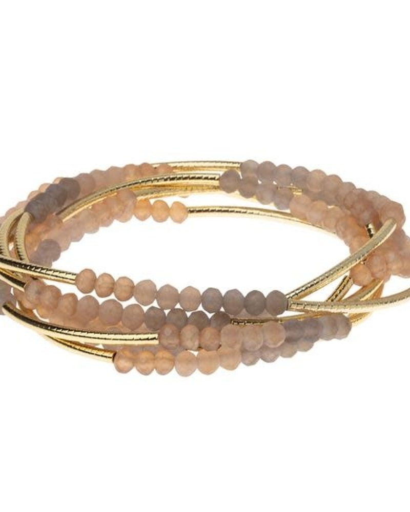 Scout Curated Wears Scout Mirage & Gold Original Wrap Bracelet/Necklace