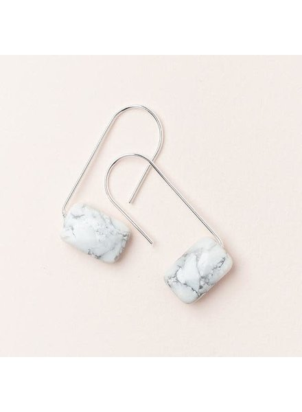 Scout Curated Wears Howlite Floating Stone Earrings