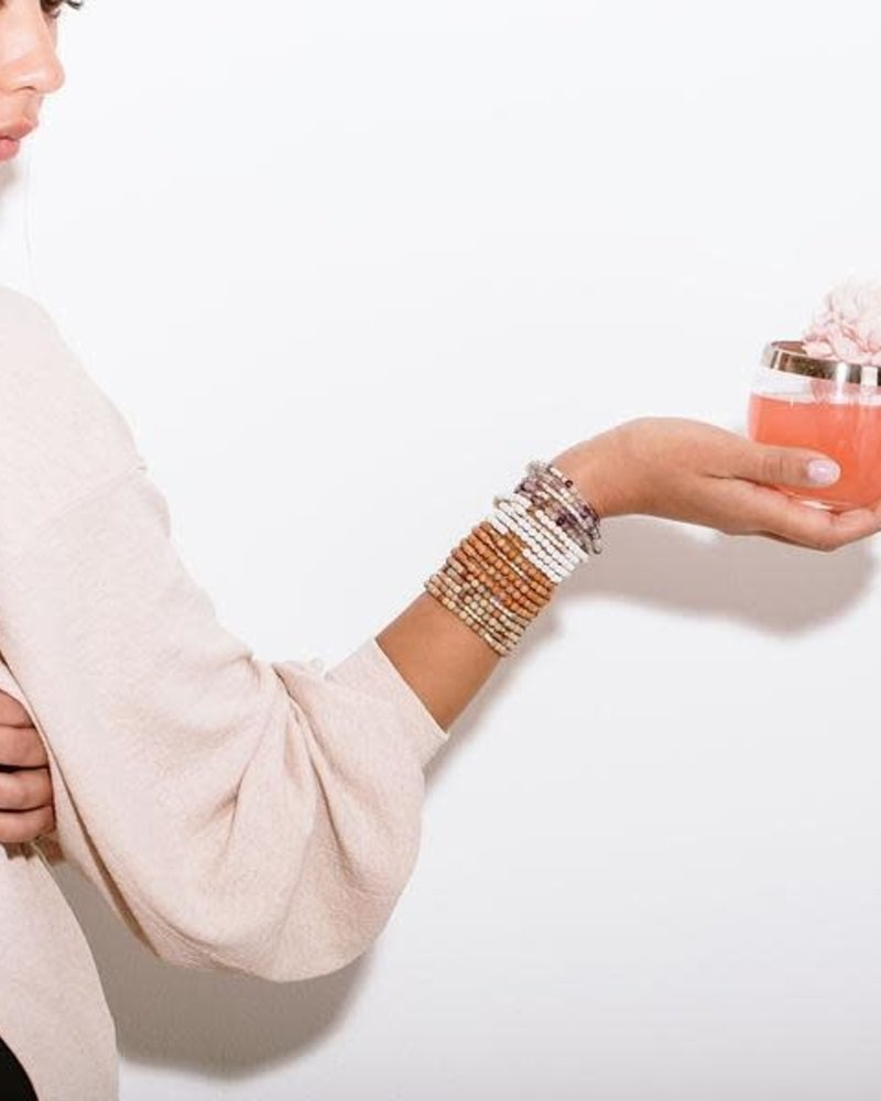 Scout Curated Wears Scout Fluorite & Silver Stone Wrap Bracelet/Necklace