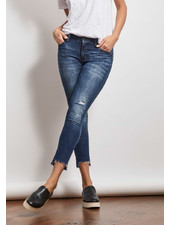 Stonefield 'Conrad' High Rise Ankle Skinny Jean in Roby Wash