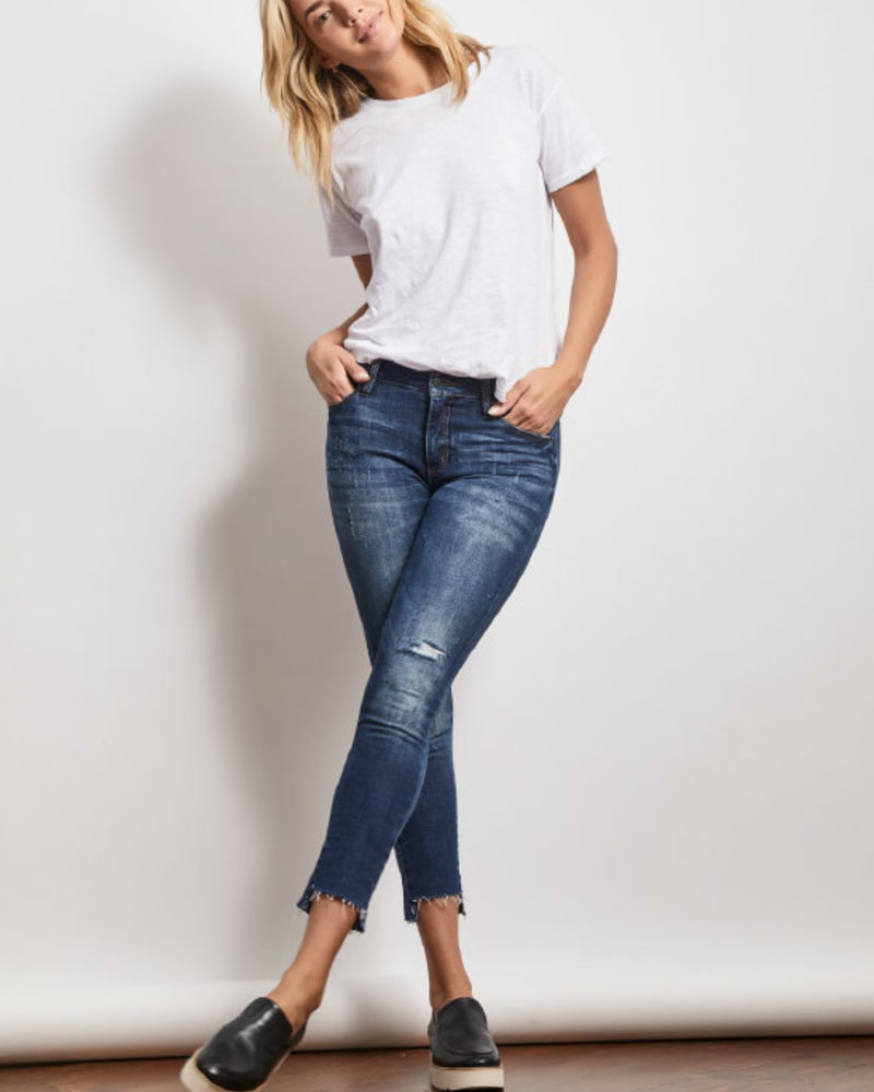 Stonefield Stonefield 'Conrad' High Rise Ankle Skinny Jean in Roby Wash