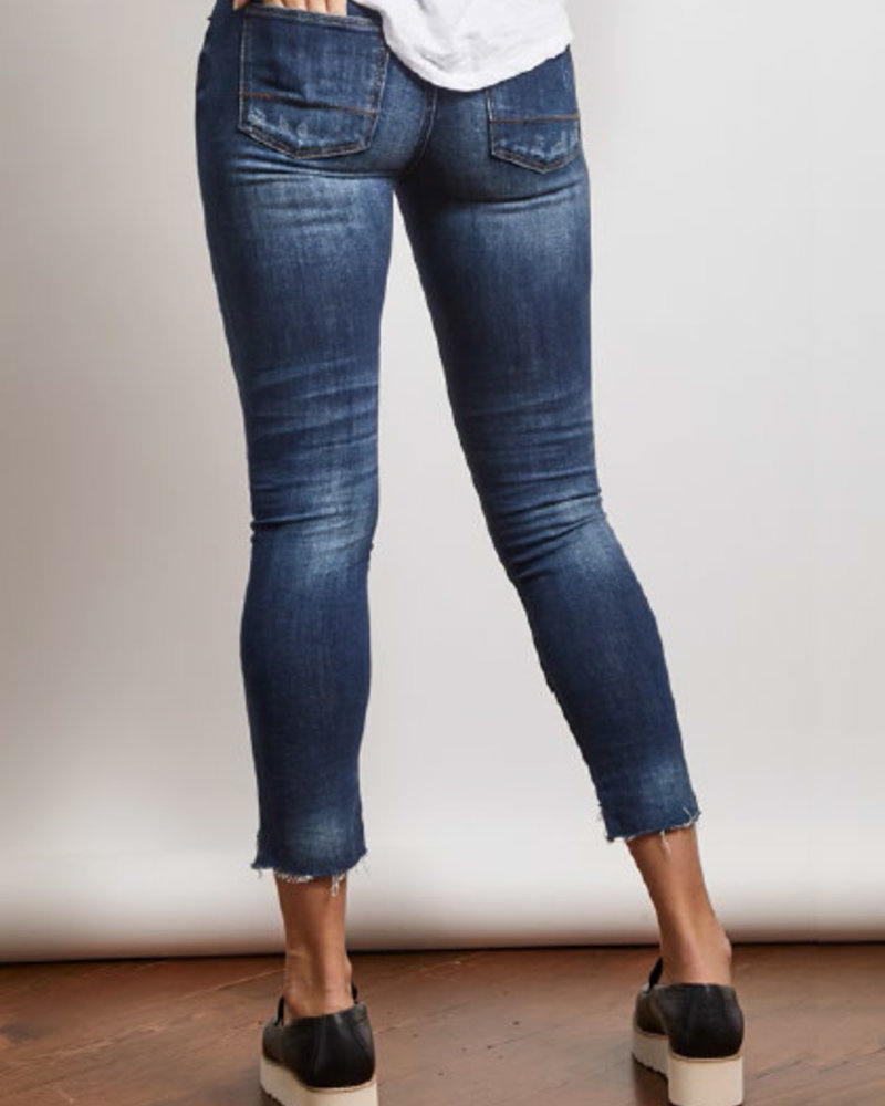 Stonefield Stonefield 'Conrad' High Rise Ankle Skinny Jean in Roby Wash **FINAL SALE**