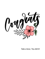 Belle Up Congrats e-Gift Card
