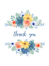 Belle Up Thank You e-Gift Card
