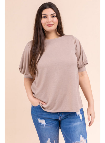 Gilli 'All Puffed Out' Top