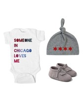 Emerson & Friends Chicago Baby Gift Set