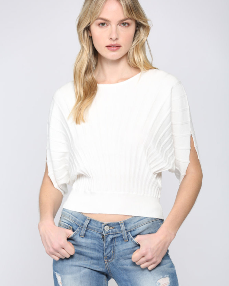 Fate by LFD Fate 'Stripe the Dolman' Top