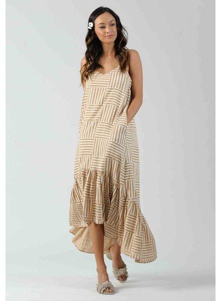 Lucca 'Amaryllis' Hi-Lo Dress