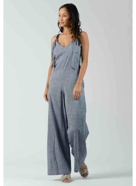 Lucca Couture 'Clover' Knot Jumpsuit **FINAL SALE**