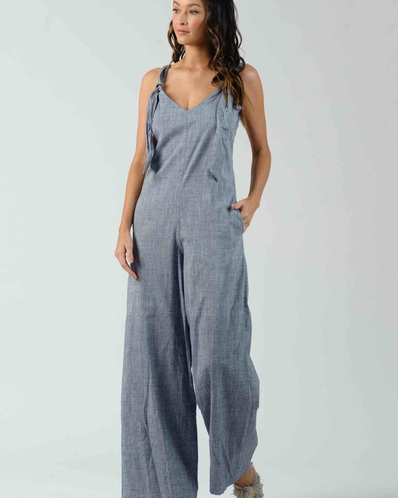 Lucca Lucca 'Clover' Knot Jumpsuit