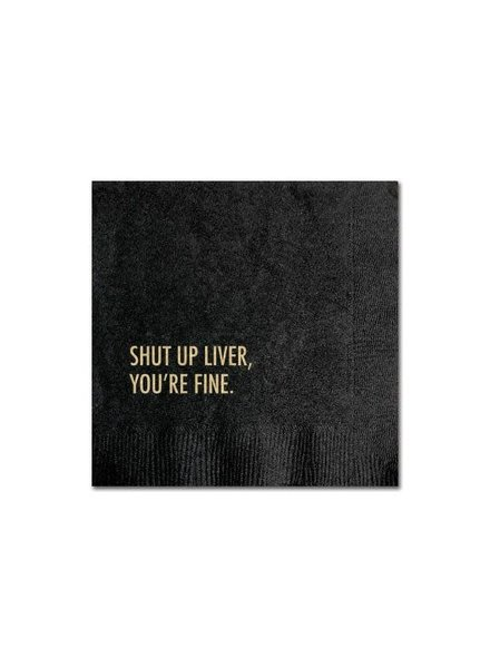 Pretty Alright Goods Cocktail Napkins (20 ct) | Shut Up Liver