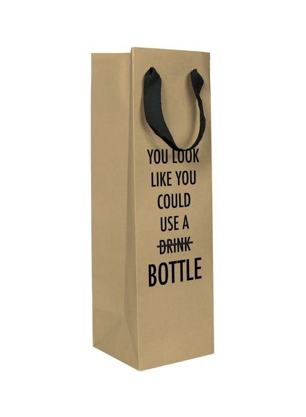 Pretty Alright Goods Wine Bag | Could Use A Bottle