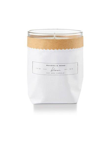 Magnolia Home Bloom Kraft Textured Candle