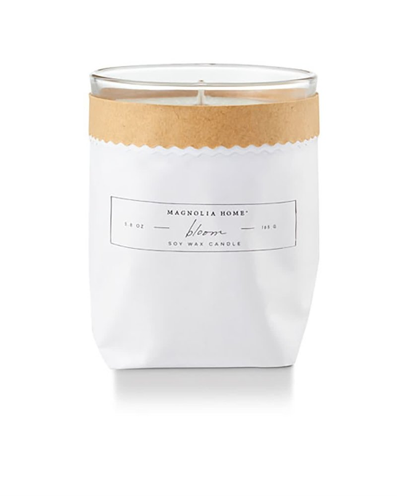 Magnolia Home Magnolia Home Bloom Kraft Textured Candle