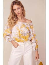 ASTR 'In A Daze' Off Shoulder Top (Medium) **FINAL SALE**