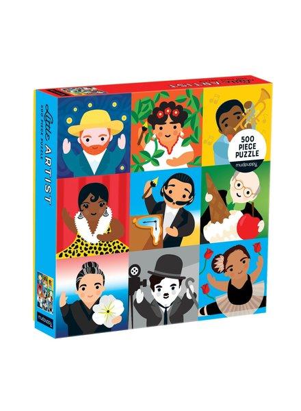 Galison Little Artist 500 Piece Family Puzzle **FINAL SALE**