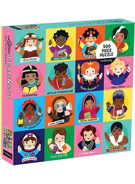 Galison Little Feminist 500 Piece Family Puzzle