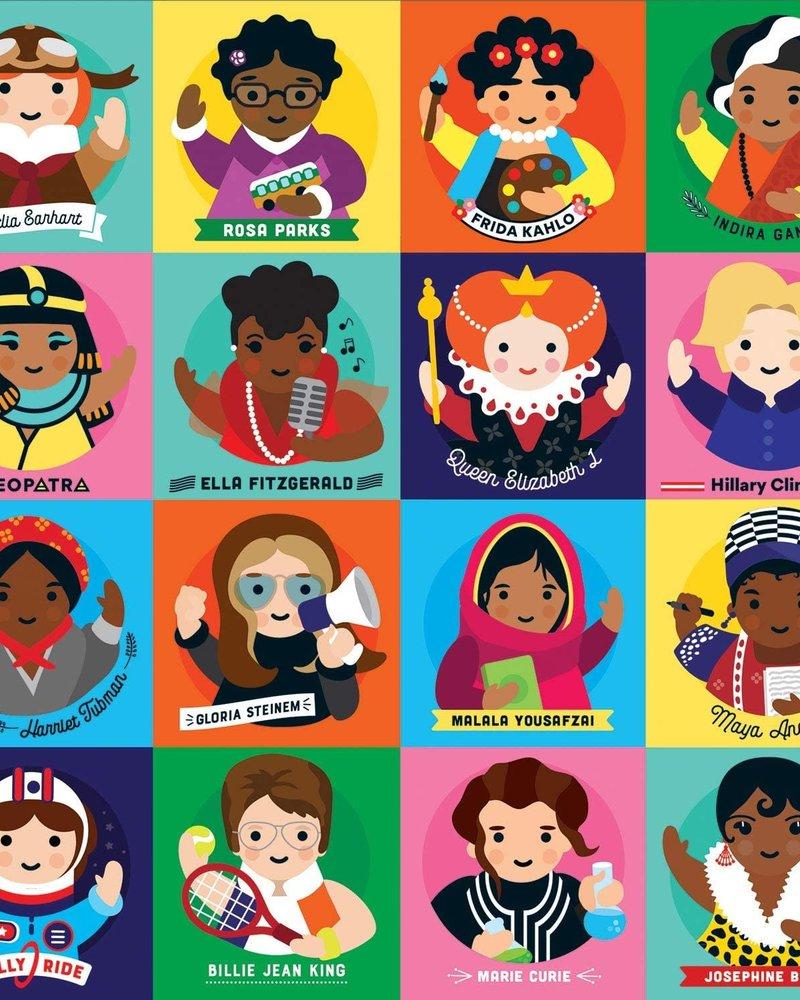 Galison Galison Little Feminist 500 Piece Family Puzzle