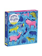 Galison Mammals With Mohawks 500 Piece Family Puzzle