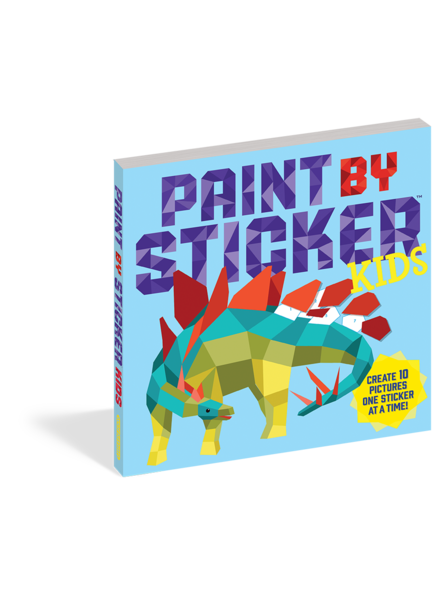 Workman Publishing Paint by Sticker Kids: The Original