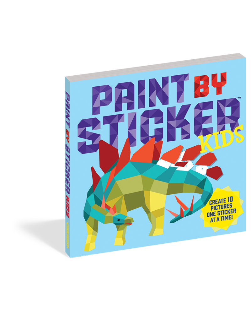 Workman Publishing Workman Paint by Sticker Kids: The Original